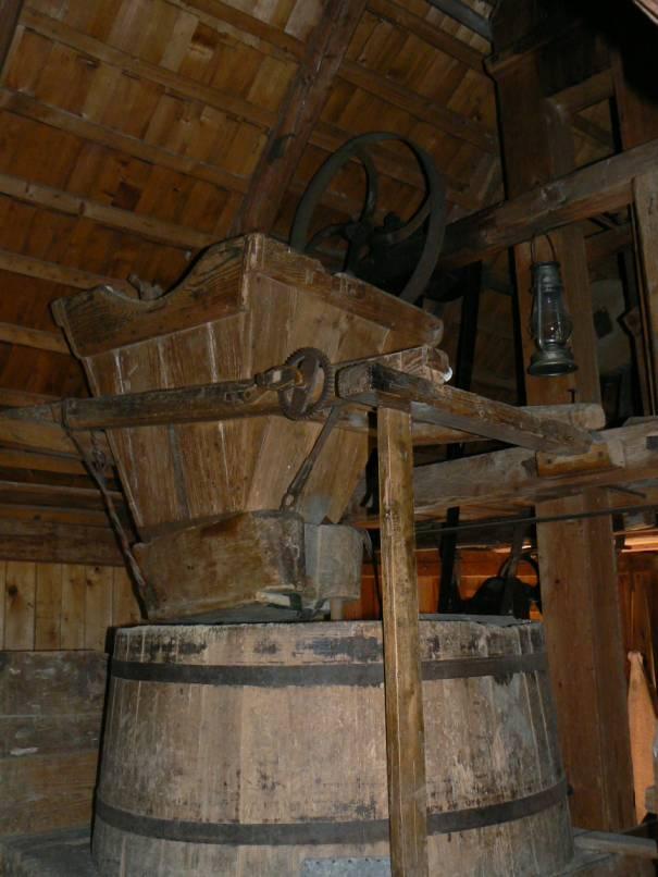 pôvodné mlynské zariadenie