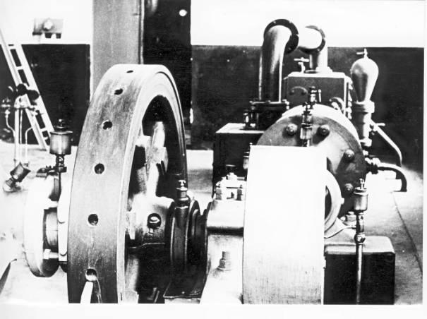 Parný stroj - fotené pred cca 20 rokmi