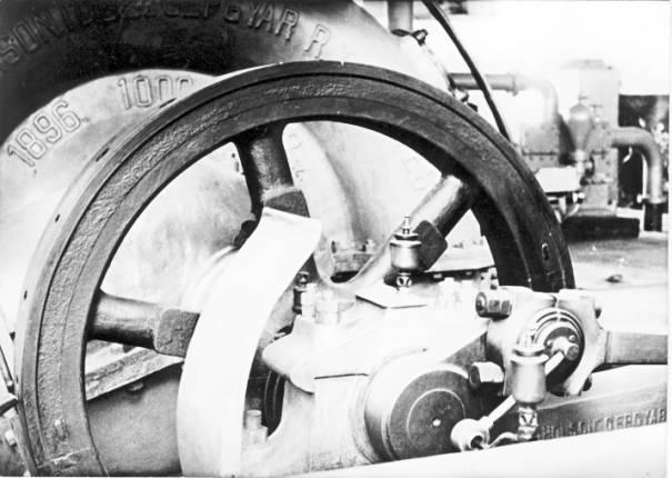Čerpadlo a zotrvačník - fotené pred cca 20 rokmi
