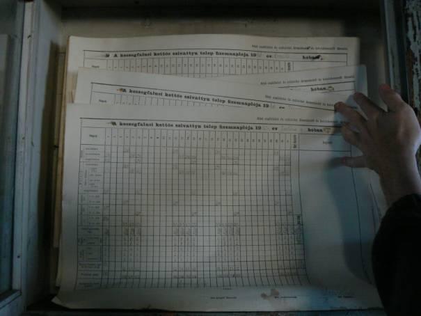 záznamy o službe z roku 1940