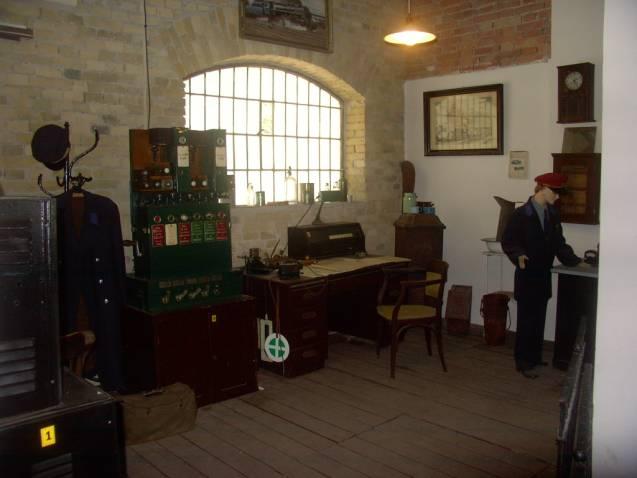 Inštalácia dopravnej kancelárie – múzeum dopravy.
