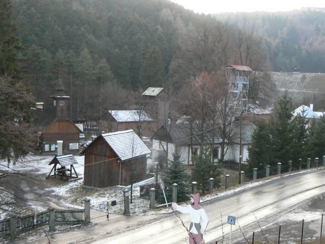 Banské múzeum v prírode SBM Banská Štiavnica.