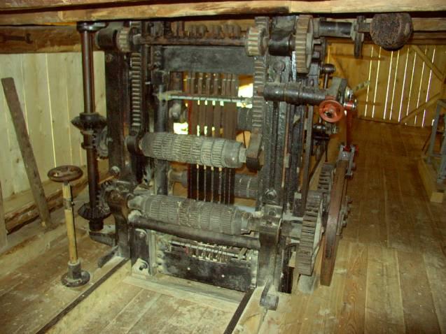 gáter v mlyne/píle v Kvačianskej Doline – Oblazy