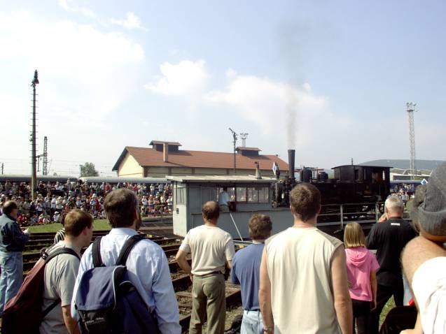 Zraz historických železničných vozidiel na Rendezi