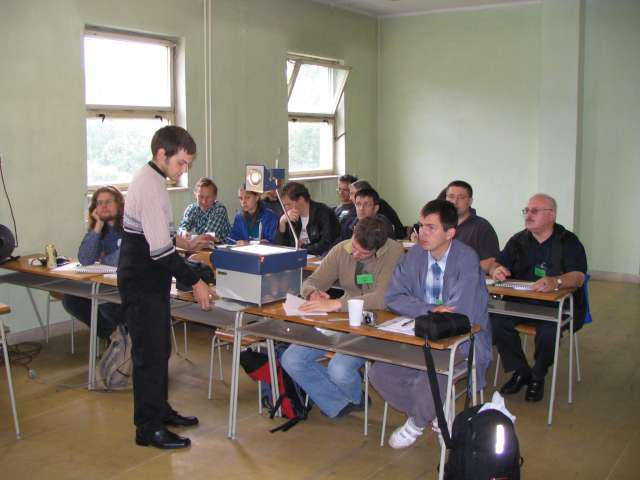 Letná škola Výhrevne Vrútky 2005 - teória
