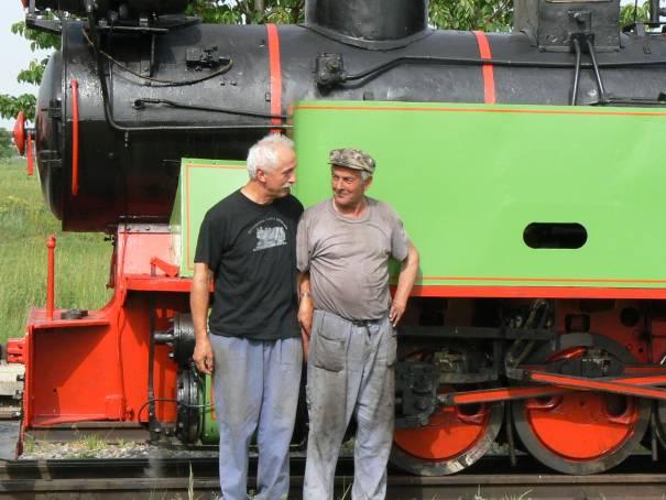 Pochvala pred zakúrenou lokomotívou od Wáclava